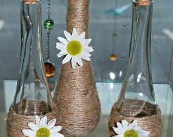 Daisy Vases - Set of 3