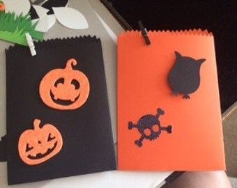 Halloween party Treat Bags (12)