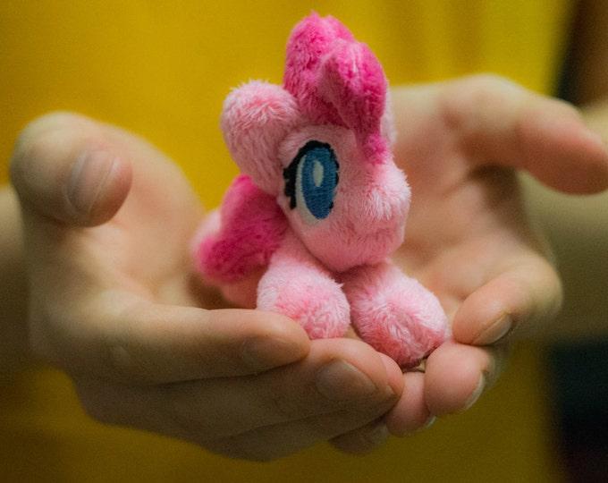 Custom plushie pony Canon & OC beanie tiny plush MLP toy handmade cute gift for brony
