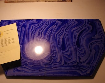 Top in stuccomarmo Ultramarine 7 tones