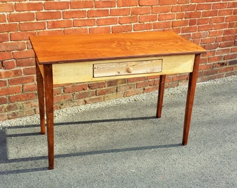 Handcrafted Wood Desk