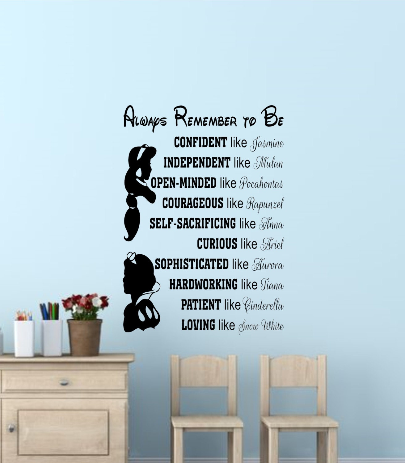 Disney princess wall quotes disney signs disney princess wall zoom amipublicfo Choice Image