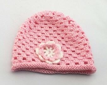 "Baby hat ""Floret"""