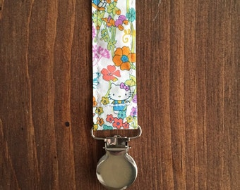 Universal Pacifier Clip, Soothie Clip, Paci Clip, Teether Holder, Pacifier Holder, Toy Holder, Soothie Holder, Baby Gift, Hello Kitty