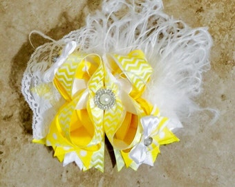 Sunshine Double Stacked Hairbow