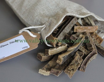 Liver Sticks - High Protein Dog and Cat Treats