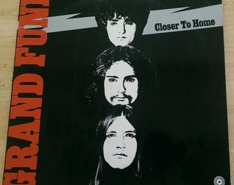 Grand Funk - Closer To Home - 1 C 062-80456 - 1970 German Import (Green Capitol Center) - 145 gram - VG+