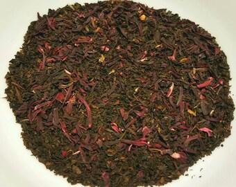 Ms. Holly - Organic, Vegan-Friendly, Herbal Tea Blend, Black Tea, Hibiscus Tea