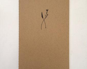 Hand-Drawn Moleskine® Journal- Floral