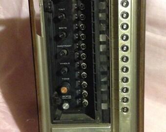Rare Console TV Control Panel
