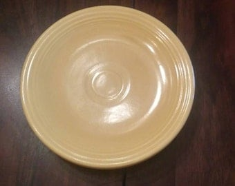 Original yellow fiestaware bread and butter plate
