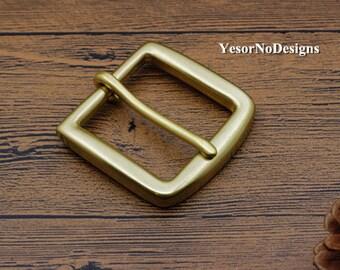 Brass Buckle - Leather Belt Buckles for Men Size: 59mm×58mm
