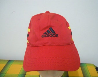 RARE Vintage ADIDAS 3 Line at Side| ADIDAS Sport | Adidas Running | Adidas Tennis Challenge Court cap hat free size for all