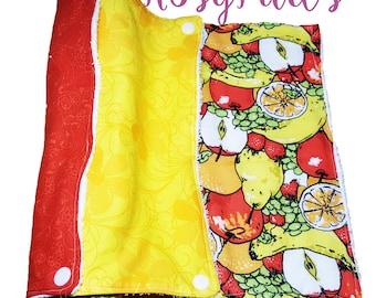 Paperless Towel, Unpaper Towel,  Reusable Paper Towel, Kitchen Towel, Snapping Unpaper Towel,  Rainbow