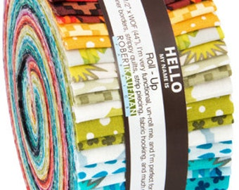 Robert Kaufman - Paintbox Basic - 2.5 inch Jelly Roll Strips - Strips