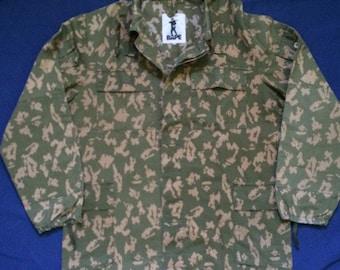 vintage bape digital camo military shirt a bathing ape