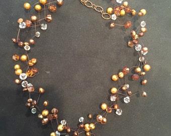 German knotting necklace