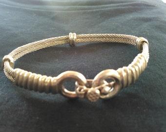 West African Silver Bracelet