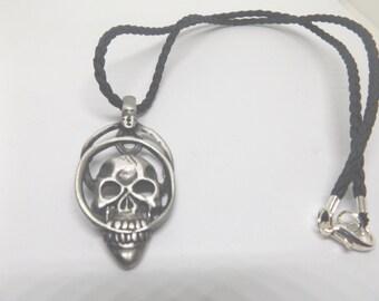 Skull Pendant Necklace