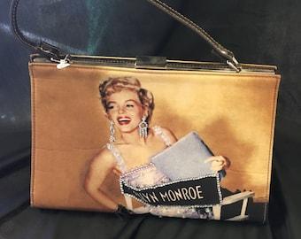 Marilyn Monroe Purse - circa 1990's