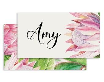 Australian Wedding Place Card | DIGITAL FILE | No Place Like Home | Printable DIY Wedding Invite, Wedding Reception, Name Card - Set of 10