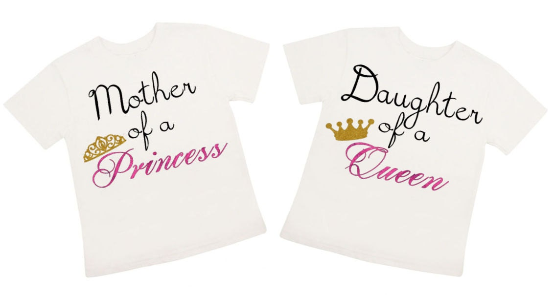 Mother Daughter Shirt Iron On Transfer Personalized Shirt