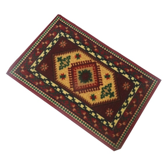 Indian home decor floor mat decorative door rug by for Decorative door mats indoor