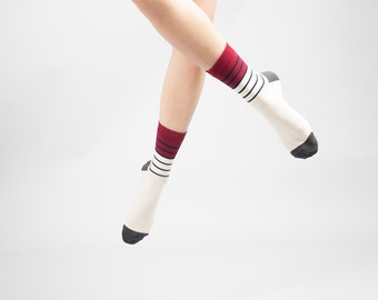 Top Stripe / Cotton Socks