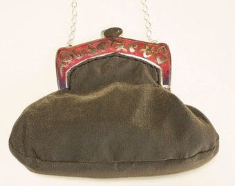 IBERICO Fiesta bag with fire-enamelled mouthpiece