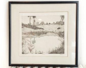 The Pond by Art Hansen