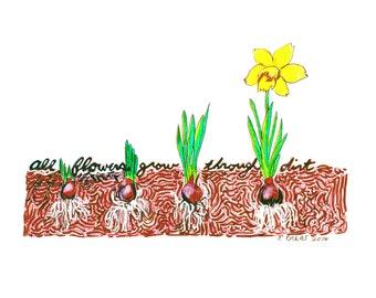 All Flowers Grow Through Dirt
