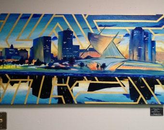 "Milwaukee - 4.25""x6"" print"