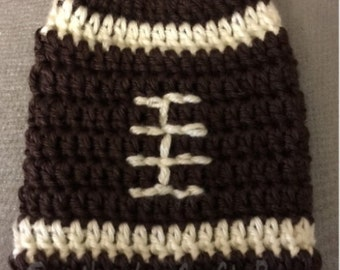 Classic Football = Cast Cozy/Cast Sock/Toe Cover = Ready to ship.