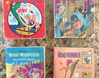 PRICE REDUCED - 14 Vintage Big Little Books - Lassie, Disney, Batman, and more