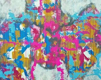 O.t.. acrylic paints on canvas