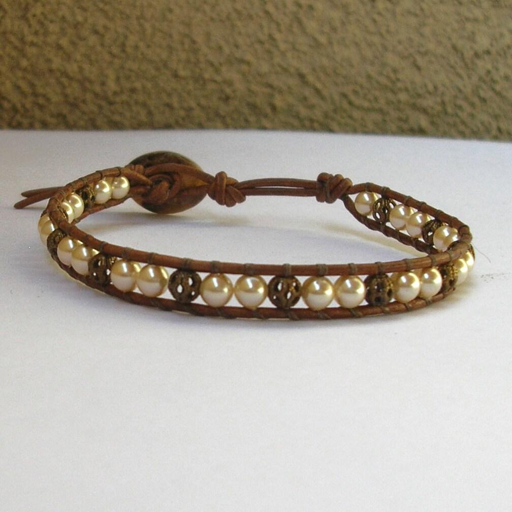 diy wrap bracelet kit leather wrap bracelet by icanmakethatnow