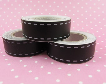 Chalkboard Washi Tape 5 yds, 3/4 in, Black Washi Tape, Scrapbook Supplies, Gift Wrap, DIY Crafts, Gift Supplies, Party Supplies, Party Decor