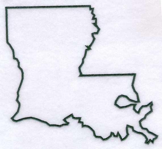 Louisiana Stencil Made from 4 Ply Mat Board by ...