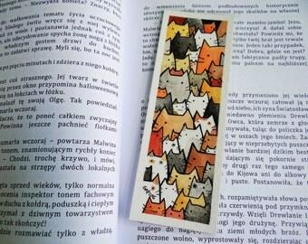 Cat bookmarks [ORIGINAL ART]
