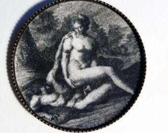erotic buttons with baroque motivs, greek mythology