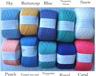 Gossamer Fine Wool ~ limited stocks
