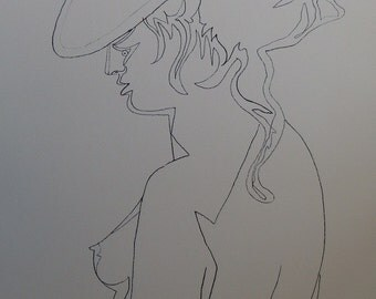 Jean COCTEAU: Woman