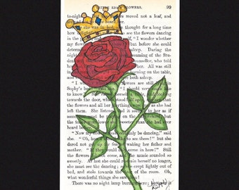 """The Crowned Rose from """"Ida's Garden"""""""