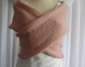 Blush Criss Cross Sweater Vest - Knit
