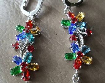 Multi Gemstone Earrings!