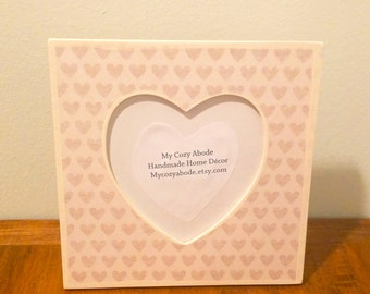 Cozy Hearts Picture Frame