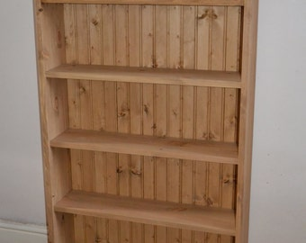 Hand Made, Hand Waxed, Solid Pine DVD Storage Unit