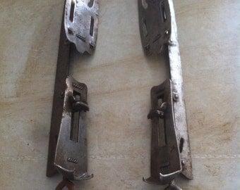 Antique ice skate blades