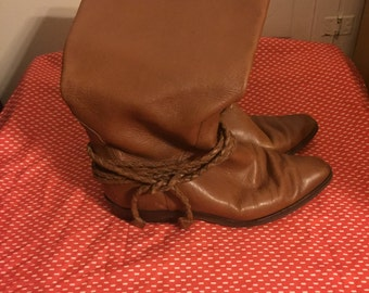 Western Style Vintage Boots