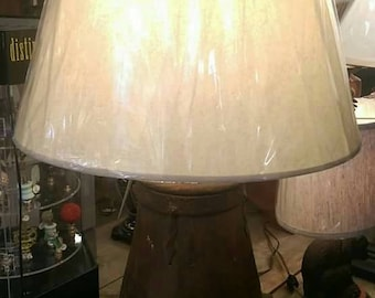 Antique Water Bucket Lamp